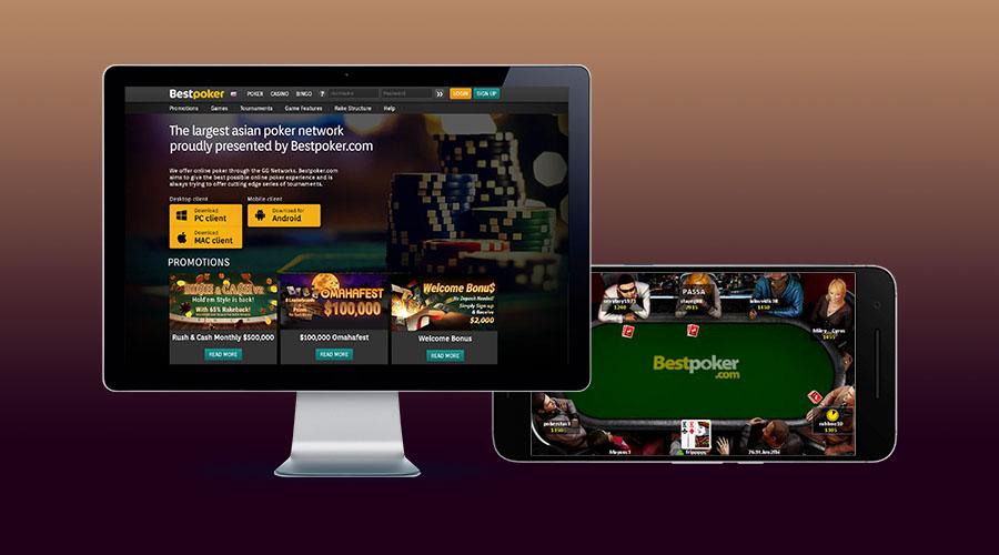 Сайт и приложение Bestpoker