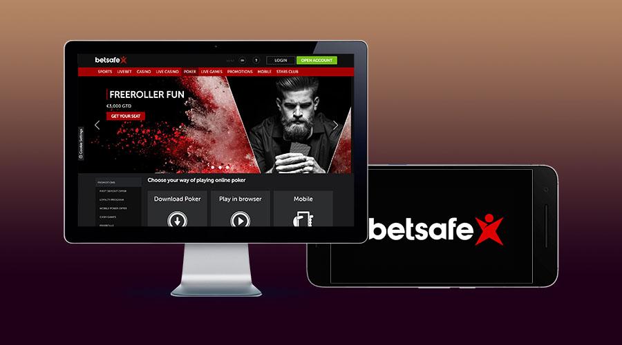 Сайт и приложение Betsafe