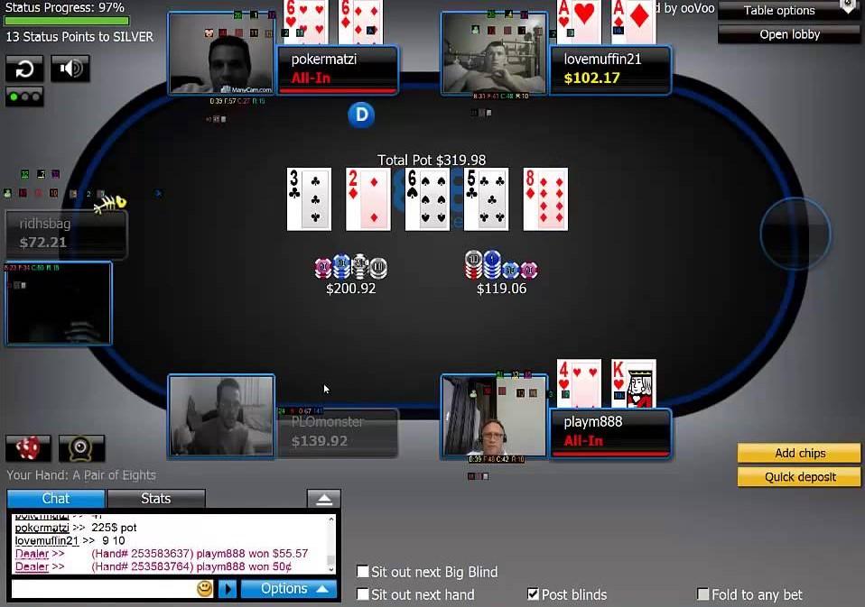 Poker Cam в руме 888покер